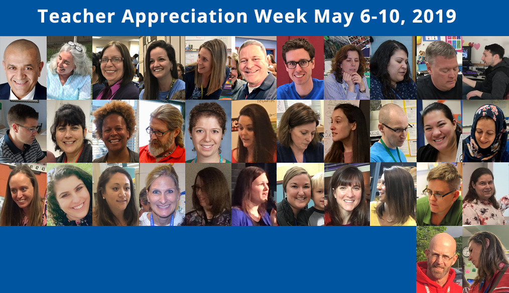 Help Celebrate Our Teachers This Week! #ThankAPSTeachers