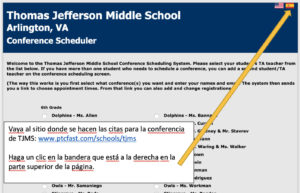 Student Led Conferences Spanish Version