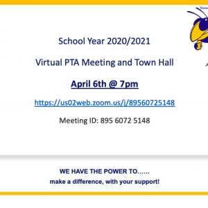 Town Hall/PTA Meeting Slide Show TJMS