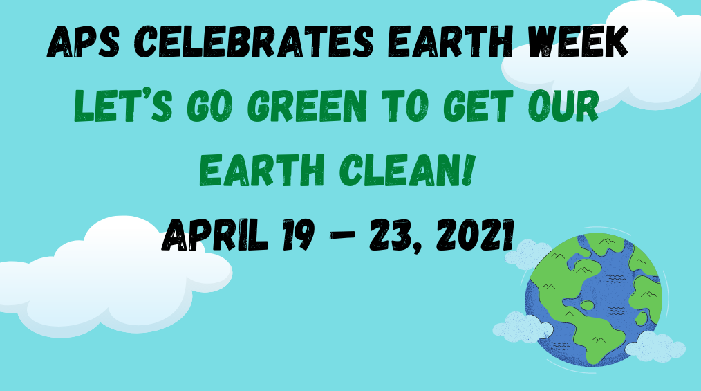 APS Celebrates Earth Week!