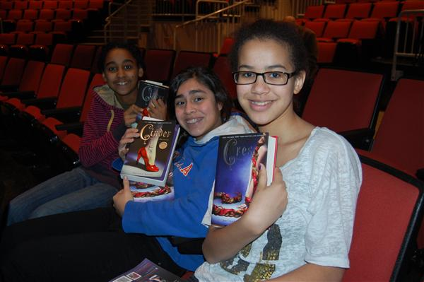 Photo of kids at TAB Author event